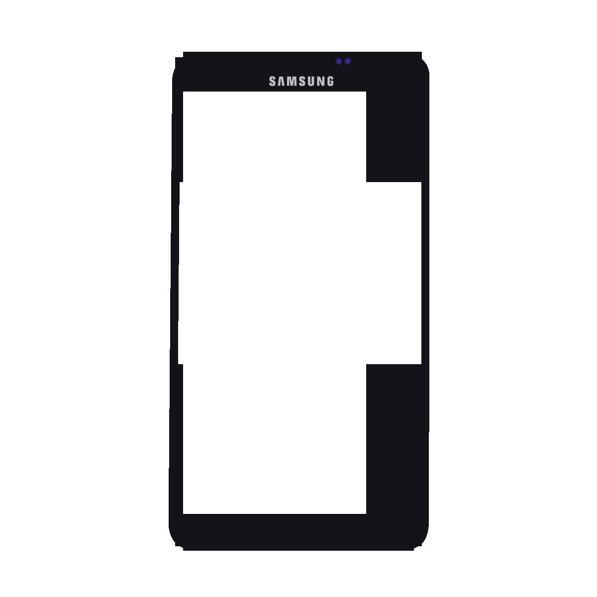 Samsung Note 3 זכוכית קדמית - שחור