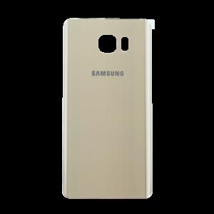 Samsung Note 5 זכוכית אחורית - זהב