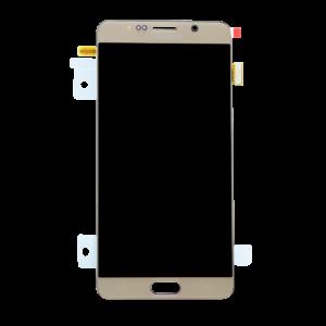 Samsung Note 5 זכוכית קדמית - זהב