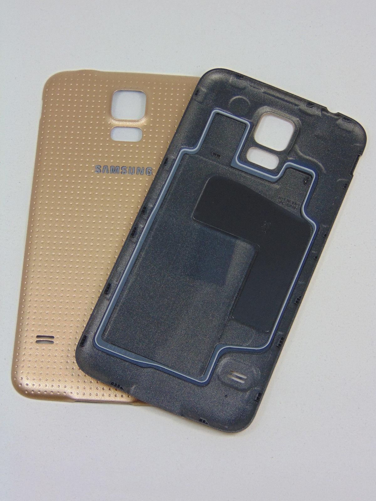 Samsung S5 גב - זהב