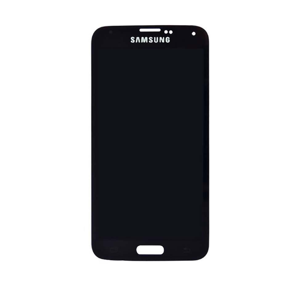 Samsung S5 LCD - שחור