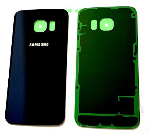 Samsung S6 זכוכית אחורית - כחול