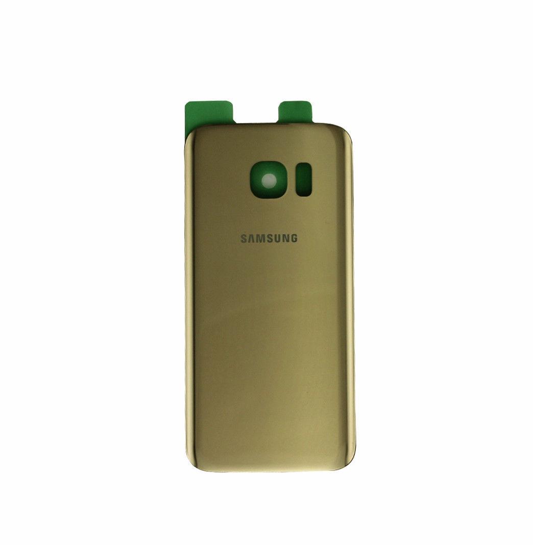 Samsung S7 Edge זכוכית אחורית - זהב