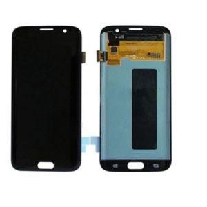 Samsung S7 Edge LCD - שחור
