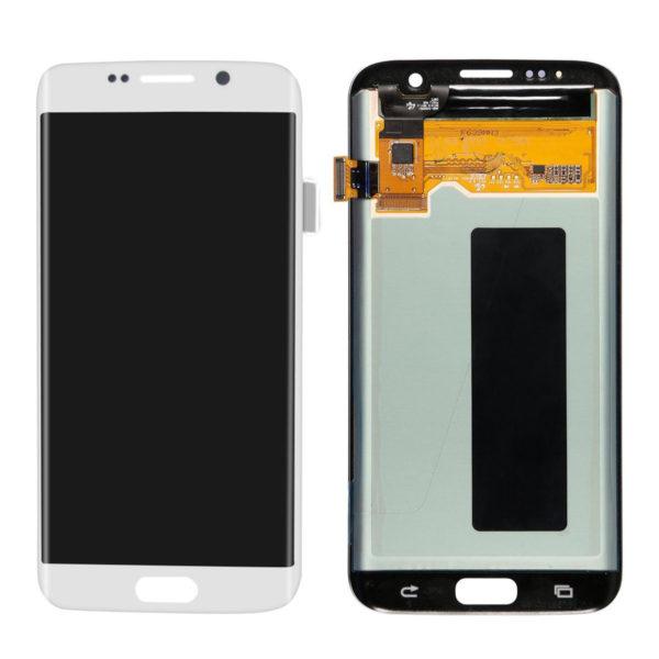 Samsung S7 Edge LCD - לבן