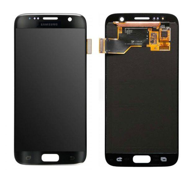 Samsung S7 LCD - שחור