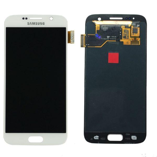 Samsung S7 LCD - לבן