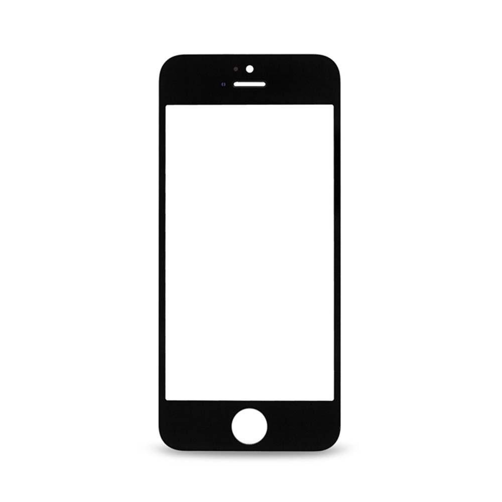 אייפון 5 זכוכית קדמית - שחור