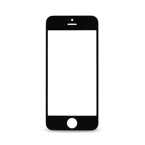 אייפון 5C זכוכית קדמית - שחור