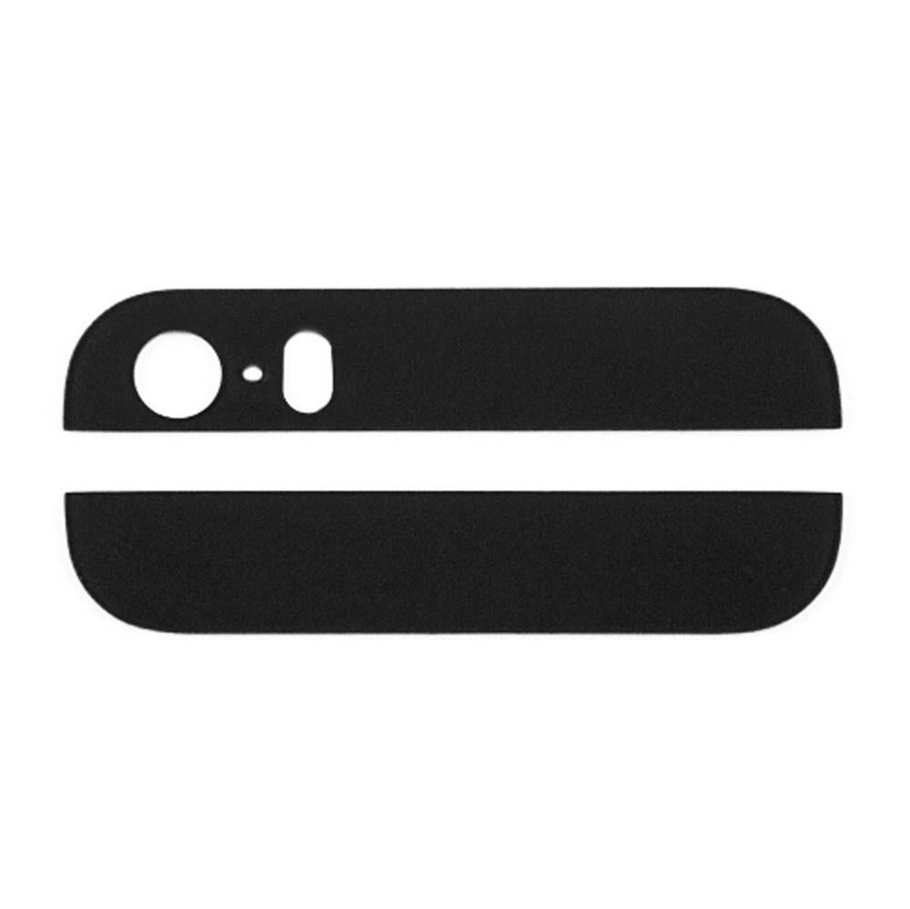 אייפון 5S זכוכית תחתונה ועליונה - שחור