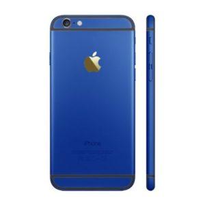 אייפון 6 גב-בית המכשיר - כחול