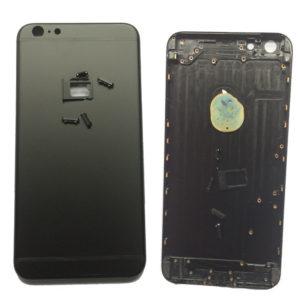 אייפון 6 Plus גב-בית המכשיר - שחור