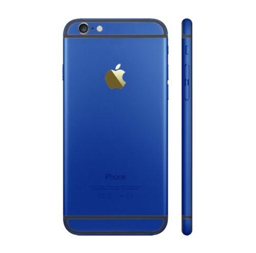 אייפון 6 Plus גב-בית המכשיר - כחול