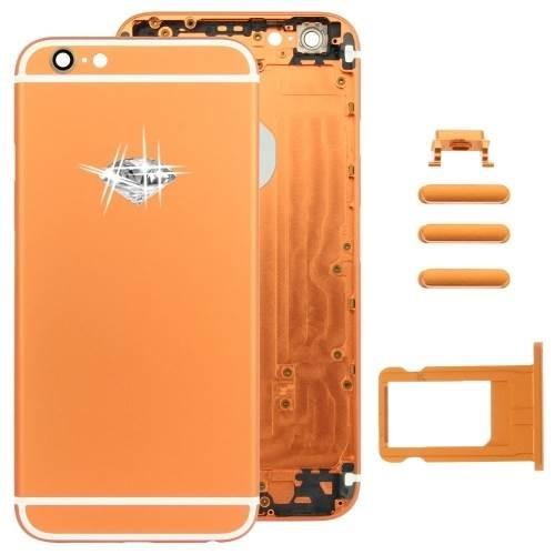 אייפון 6 Plus גב-בית המכשיר - Mustard זהב