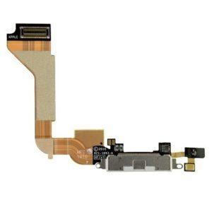 אייפון 4 שקע טעינה פלקס  - לבן