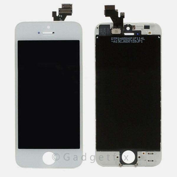 אייפון 5 LCD Screen (A/M Quality)  - לבן
