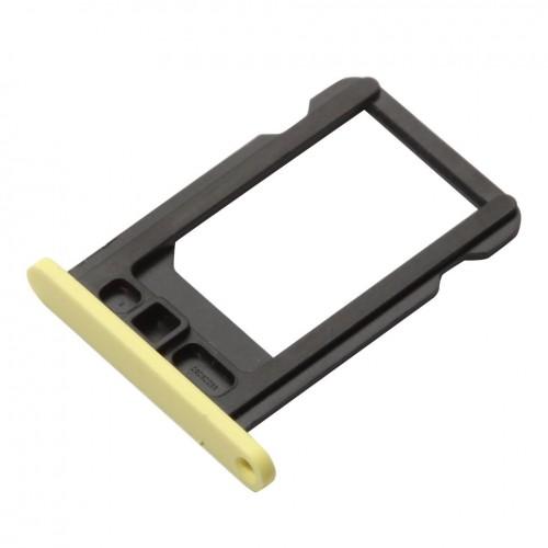 אייפון 5C מגשית סים - צהוב