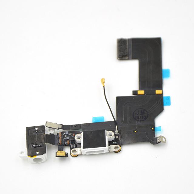 אייפון 5S Charging פלקס  - לבן