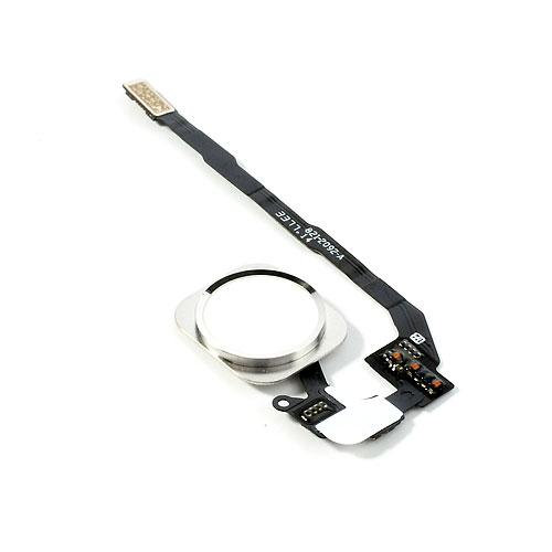 אייפון 5S כפתור בית (פלקס)- לבן