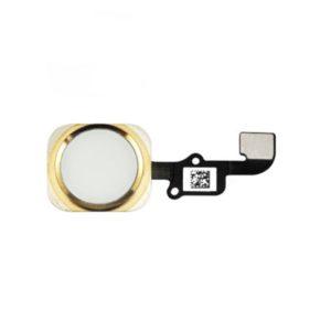 אייפון 6 כפתור בית כולל פלקס - זהב