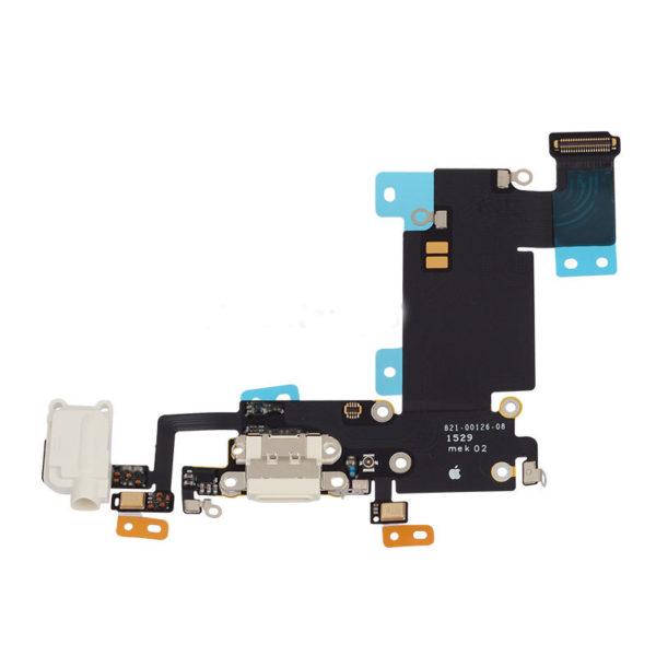 אייפון 6S Plus שקע טעינה פלקס - לבן