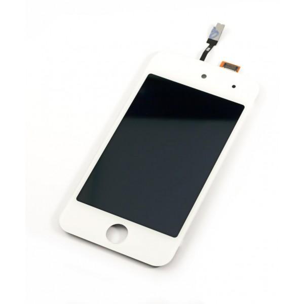 iPod Touch דור 4 מסך תצוגה - לבן